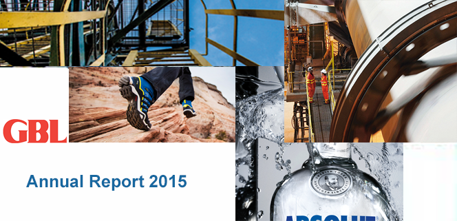 Annual Report GBL 2015 in PDF
