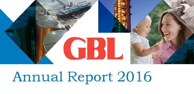 Annual Report GBL 2016 in PDF